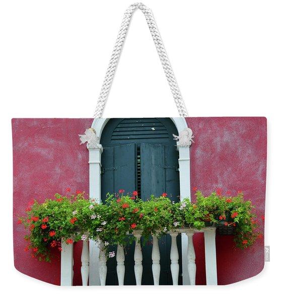 Pastel Colors Of Burano  Weekender Tote Bag