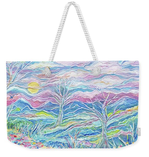 Pastel Country Weekender Tote Bag