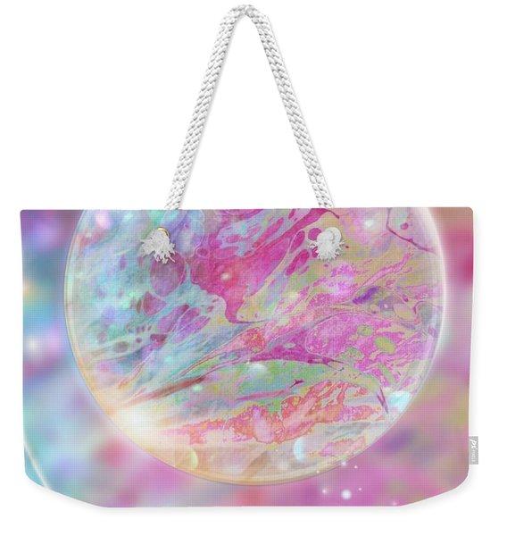 Pastel Dream Sphere Weekender Tote Bag
