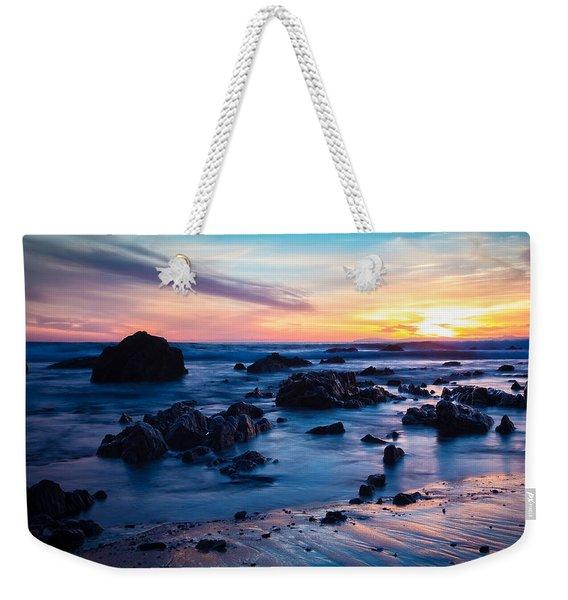 Pastel Fade Weekender Tote Bag