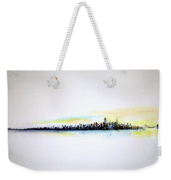 Pastel Morning Weekender Tote Bag