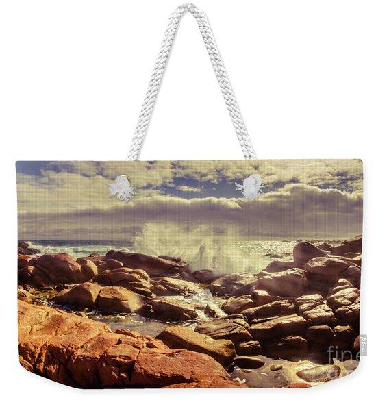 Pastel Seas Weekender Tote Bag