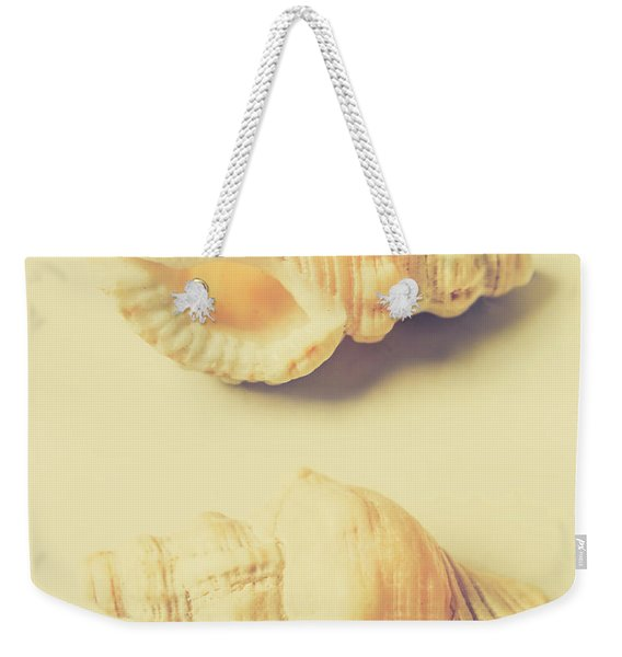 Pastel Seashell Fine Art Weekender Tote Bag