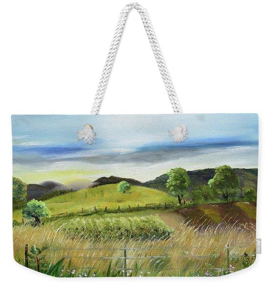 Pasture Love At Chateau Meichtry - Ellijay Ga Weekender Tote Bag
