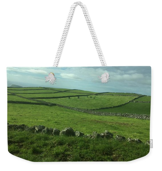Pastures Of Terceira, The Azores, Portugal Weekender Tote Bag