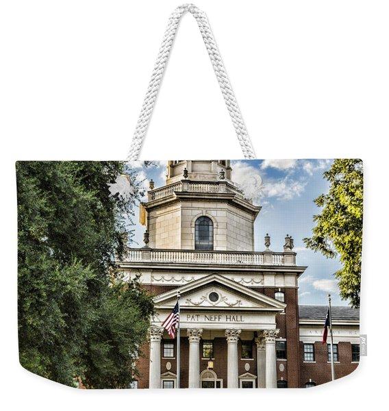 Pat Neff Hall - Baylor #4 Weekender Tote Bag