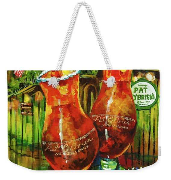 Pat O' Brien's Hurricanes Weekender Tote Bag