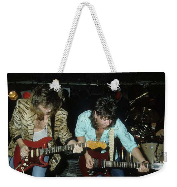Pat Travers Band Weekender Tote Bag