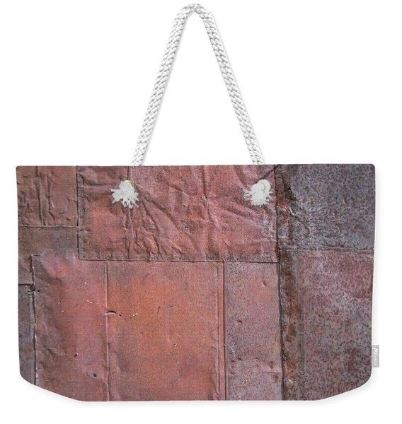 Patchwork Tin Weekender Tote Bag