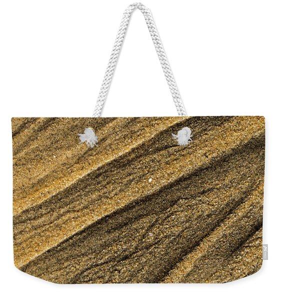 Paterns In The Sand Weekender Tote Bag