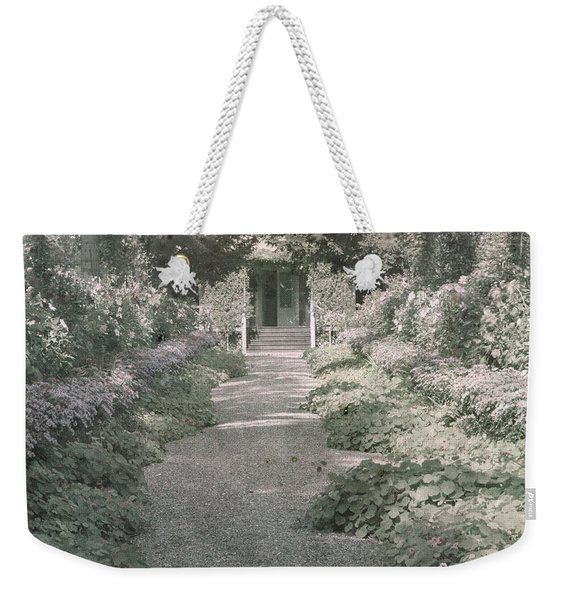 Path In Monet's Garden At Giverny Weekender Tote Bag