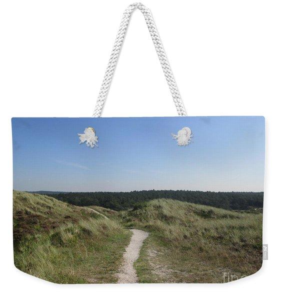 Path In The Dunes Of Schoorl Weekender Tote Bag