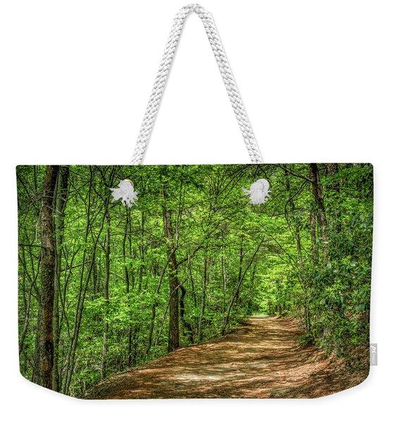 Path Less Travelled Weekender Tote Bag