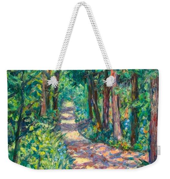 Path On Sharp Top Weekender Tote Bag