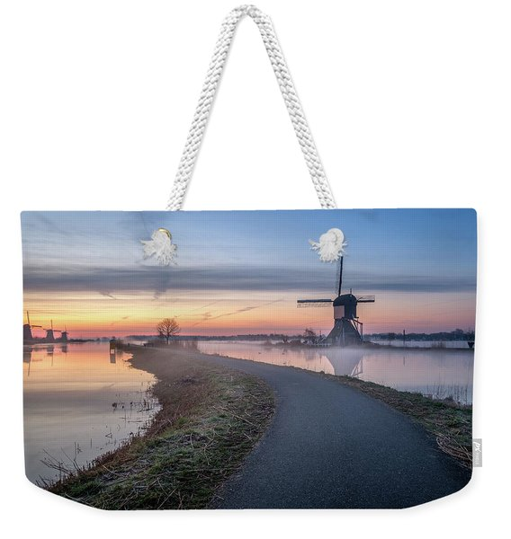 Path Through Windmill City Weekender Tote Bag