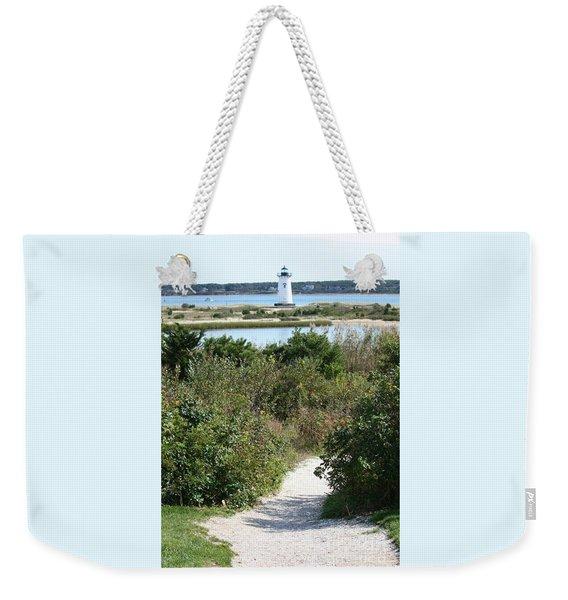 Path To Edgartown Lighthouse Weekender Tote Bag