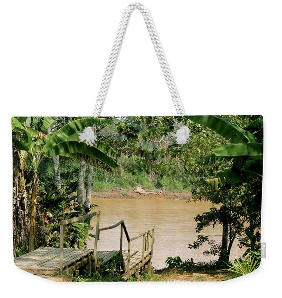 Path To The Amazon River Weekender Tote Bag