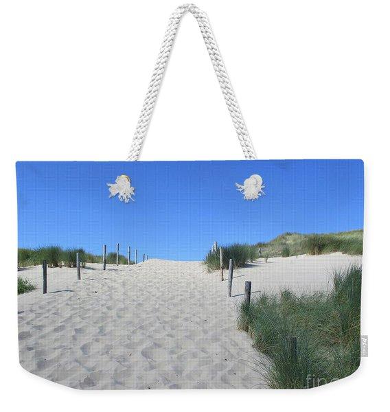 Path To The Beach In The Noordhollandse Duinreservaat Weekender Tote Bag