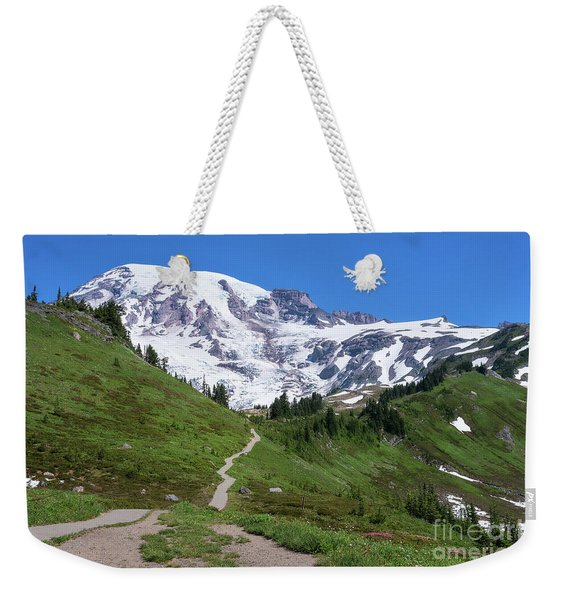 Path To The Summit Weekender Tote Bag