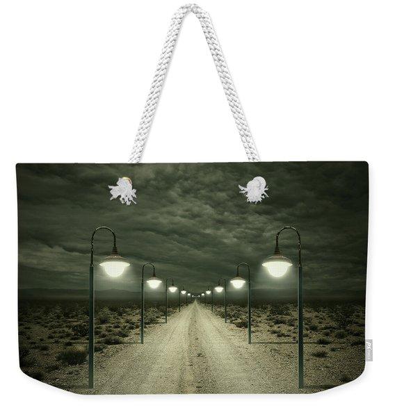 Path Weekender Tote Bag