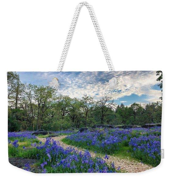 Pathway Through The Flowers Weekender Tote Bag