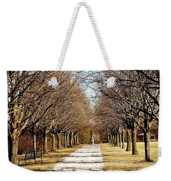Pathway Through Trees Weekender Tote Bag