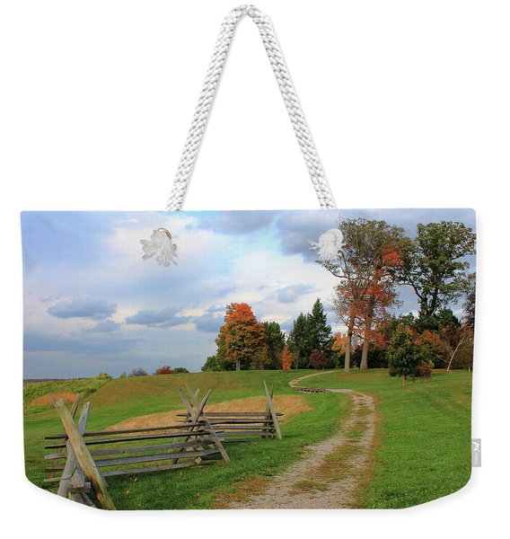 Pathway To Fall Weekender Tote Bag