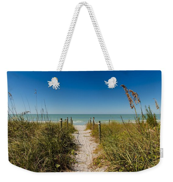 Pathway To Paradise Weekender Tote Bag