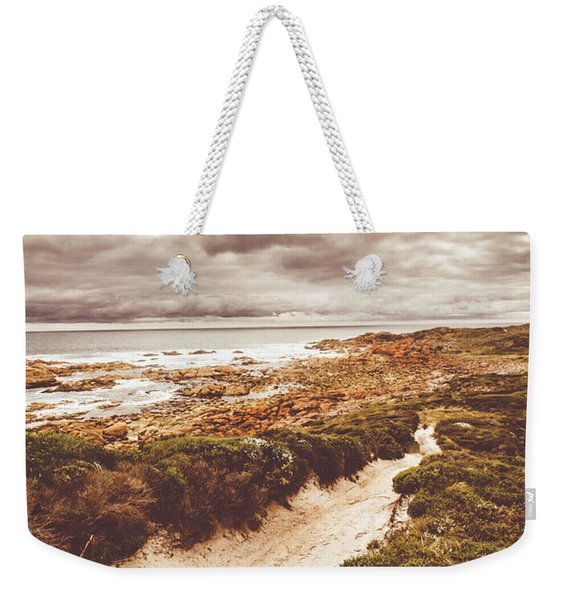 Pathways To Seaside Paradise Weekender Tote Bag