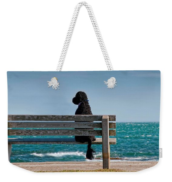 Patient Waiter Weekender Tote Bag