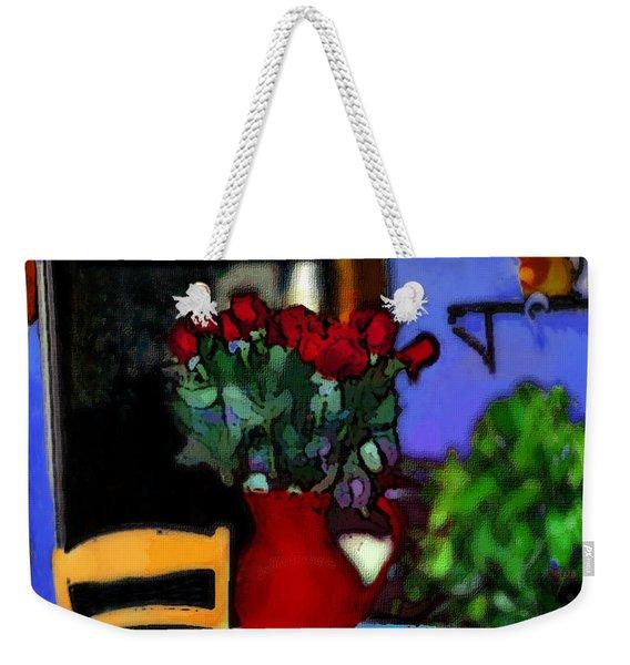 Patio Art 2  Weekender Tote Bag