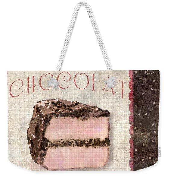 Patisserie Gateau Au Chocolat Weekender Tote Bag