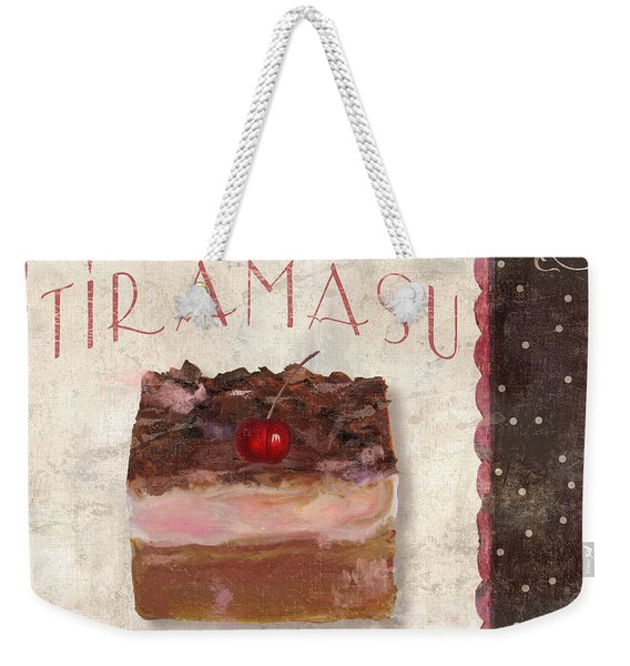 Patisserie Tiramasu  Weekender Tote Bag