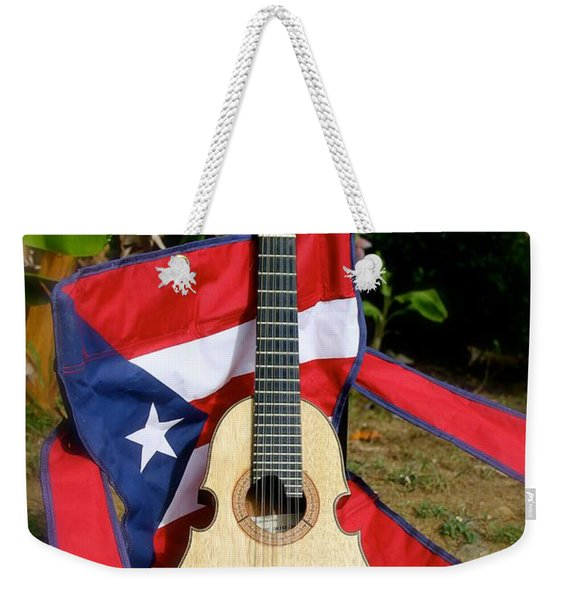 Patriotic Cuatro Weekender Tote Bag
