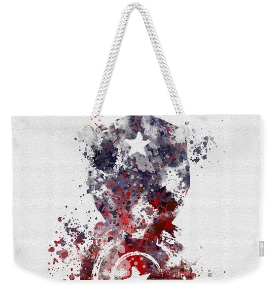 Patriotic Supersoldier Weekender Tote Bag