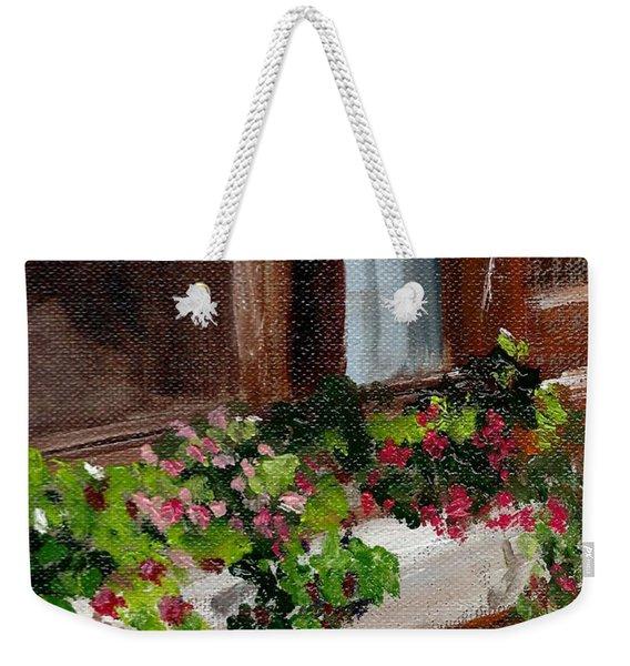 Pat's Windowbox Weekender Tote Bag