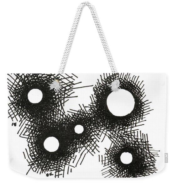 Patterns 1 2015 - Aceo Weekender Tote Bag