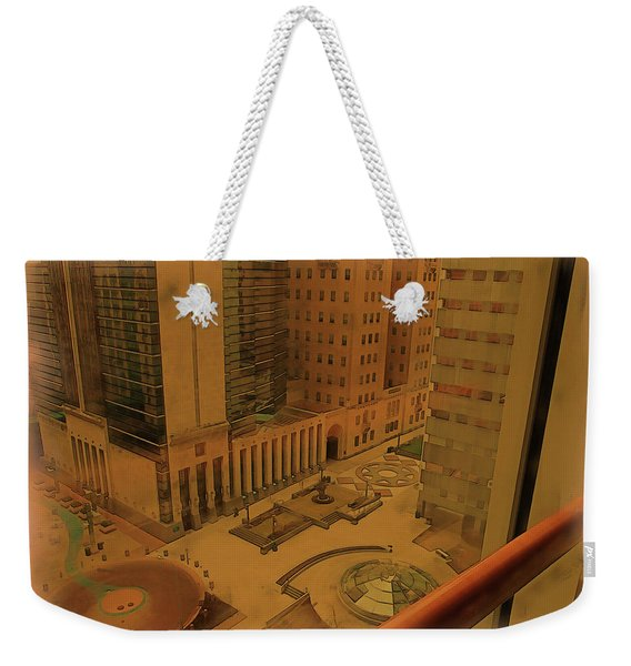 Patterns In Architecture Weekender Tote Bag