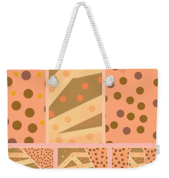 Patterns Of Finding Solace 100 Weekender Tote Bag