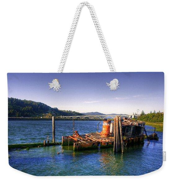 Patterson Bridge Oregon Weekender Tote Bag