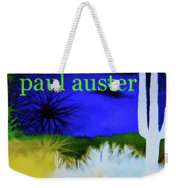 Paul Auster Poster Moon Palace Weekender Tote Bag