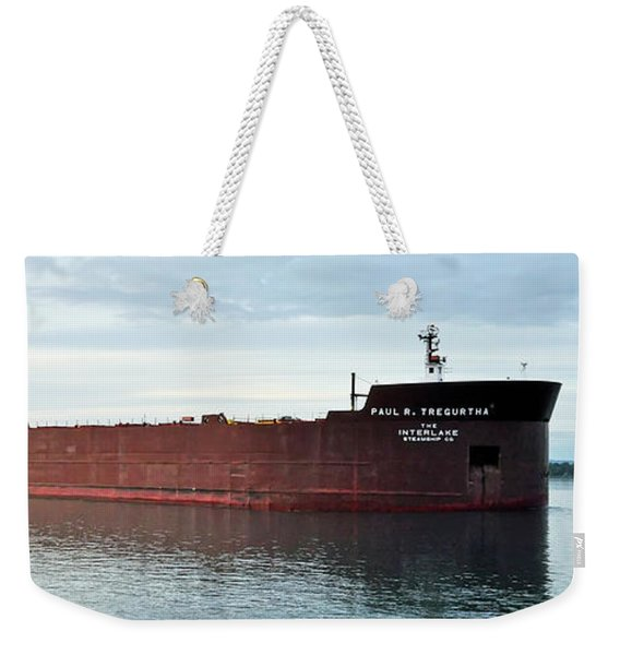 Paul R Tregurtha Weekender Tote Bag