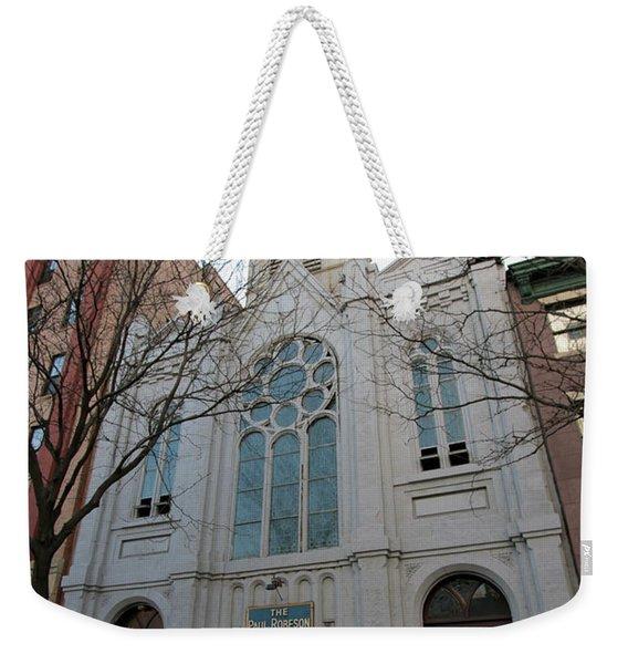 Paul Roberson Theatre  Weekender Tote Bag