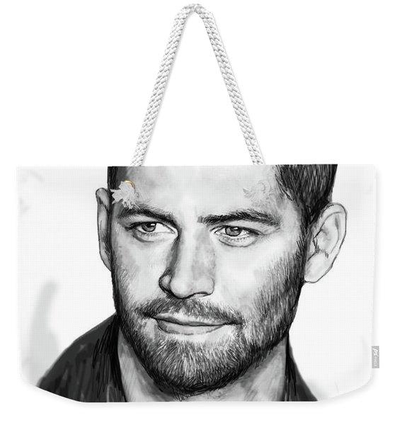 Paul Walker Pop Art Poster Weekender Tote Bag