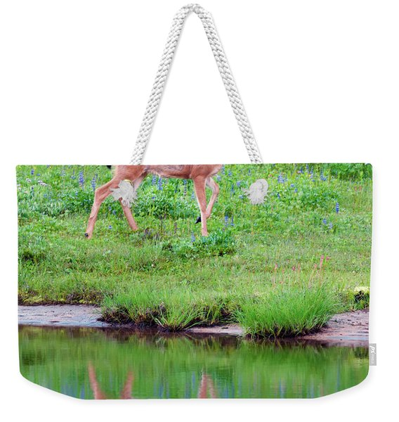 Pausing For Reflection Weekender Tote Bag