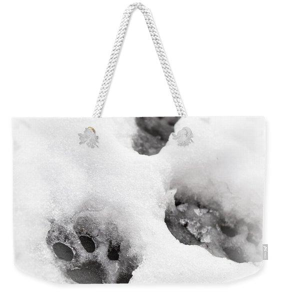 Paw Print  Weekender Tote Bag