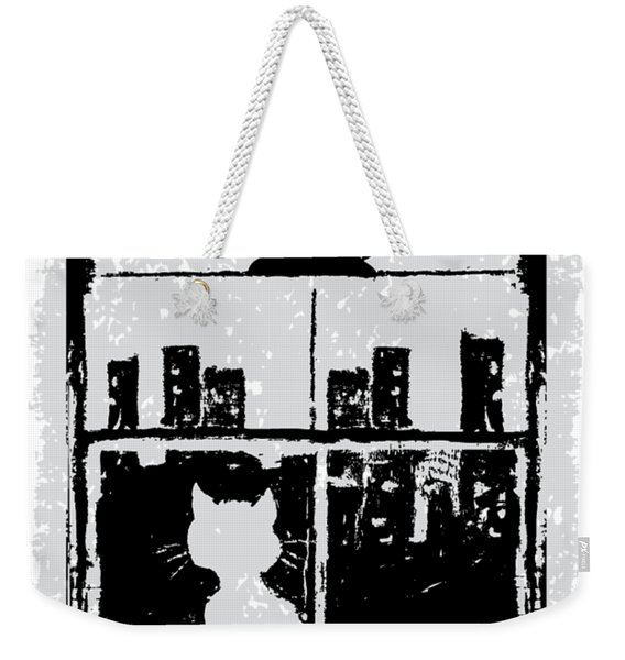 Paws And Reflect Weekender Tote Bag