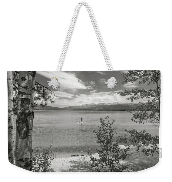 Payette Lake Boarder Weekender Tote Bag
