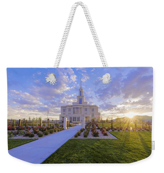 Payson Temple I Weekender Tote Bag