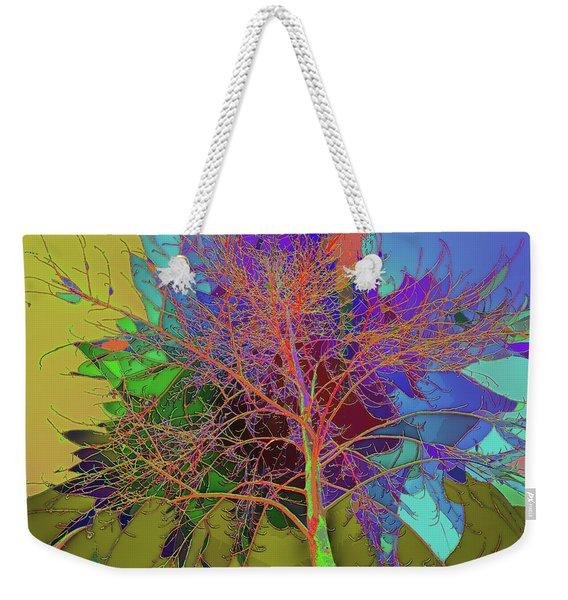 P C C Elm In The Wait Of Bloom Weekender Tote Bag